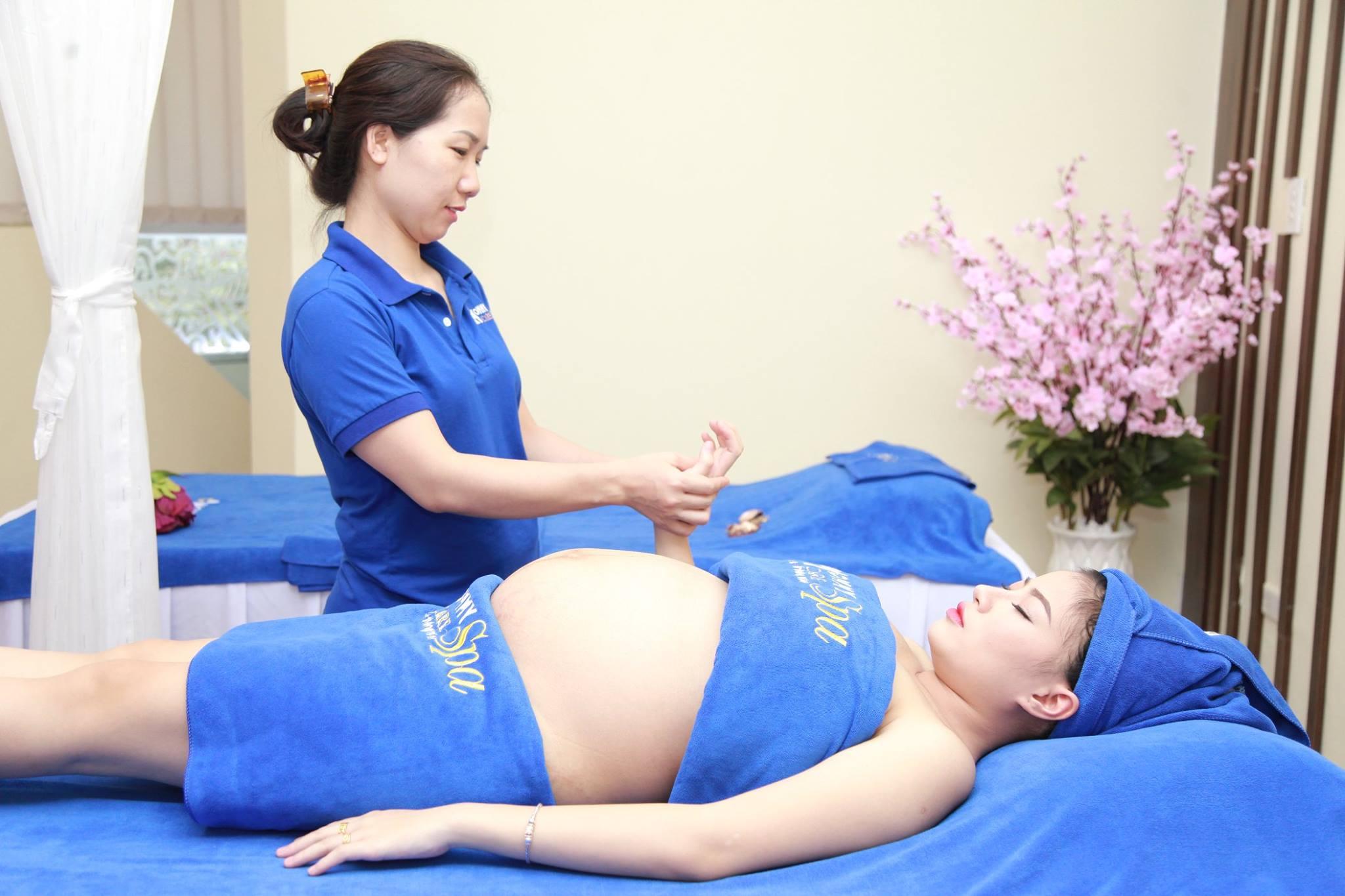 massage bầu