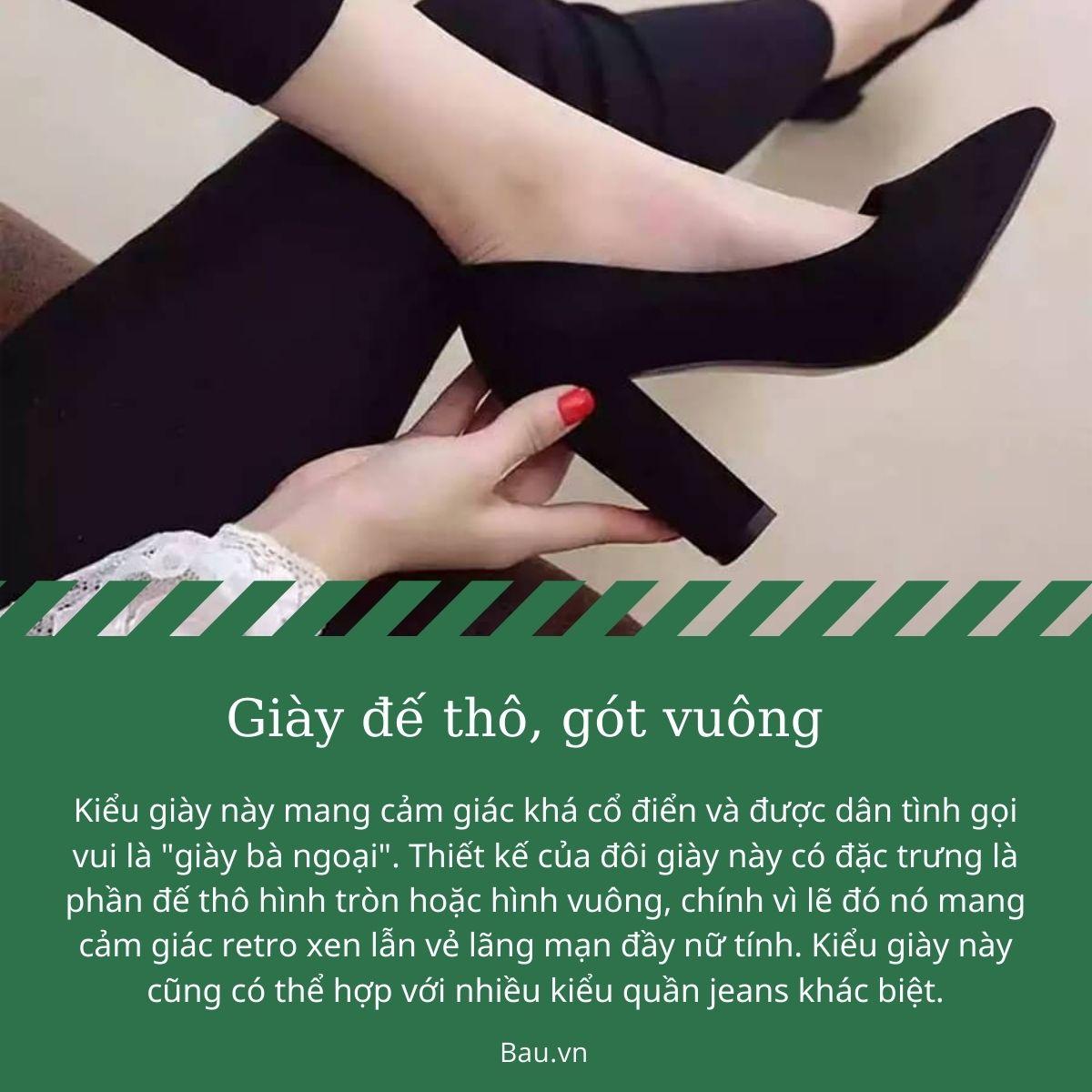 Những kiểu giày