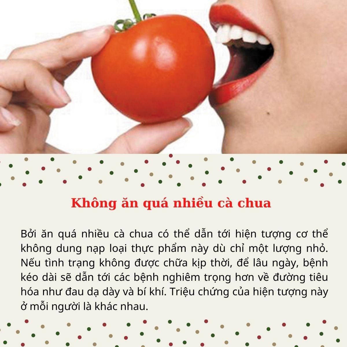 Những cách ăn cà chua