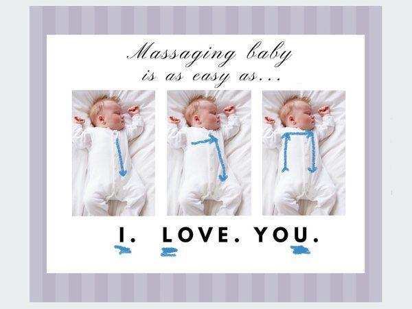 massage trị táo bón cho trẻ