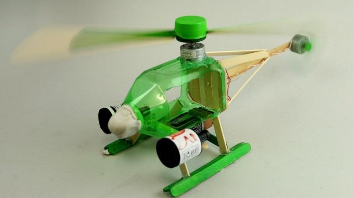 Khéo tay tái chế chai nhựa