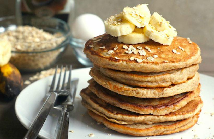 bánh pancake không dùng bột mì