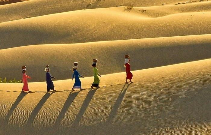 Đồi cát Nam Cương (Ninh Thuận) - Sa mạc thu nhỏ ở Việt Nam