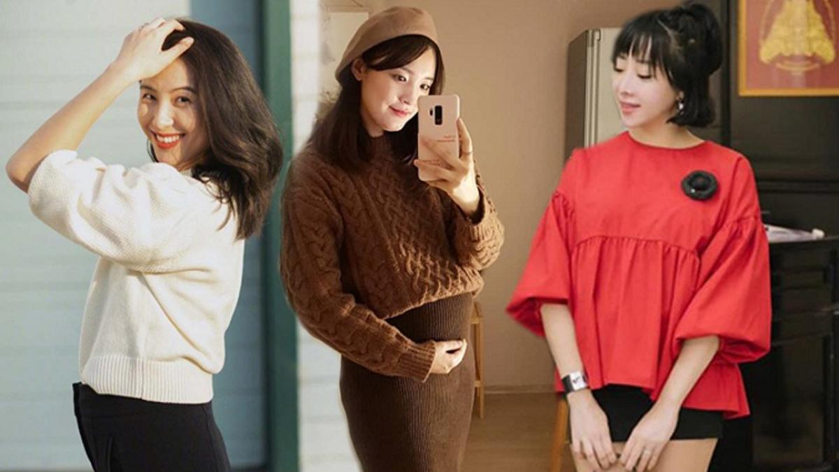 Học ngay phong cách thời trang bầu Hàn Quốc để mẹ nào cũng đẹp lung linh