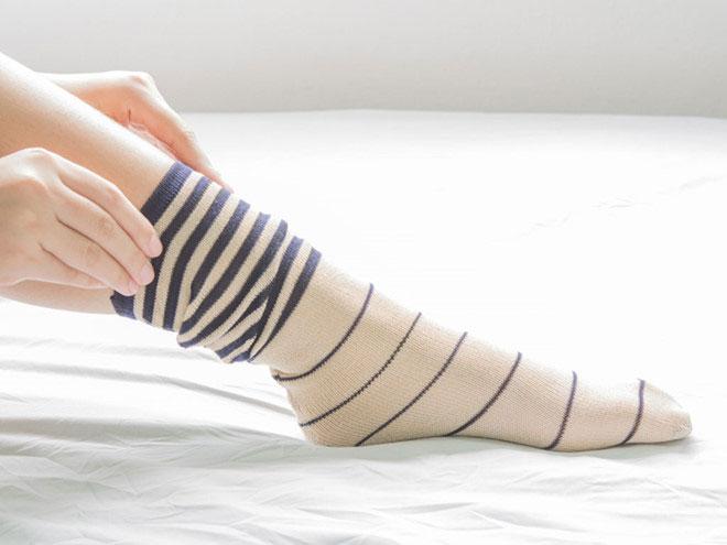 Bí quyết giữ đôi chân mềm