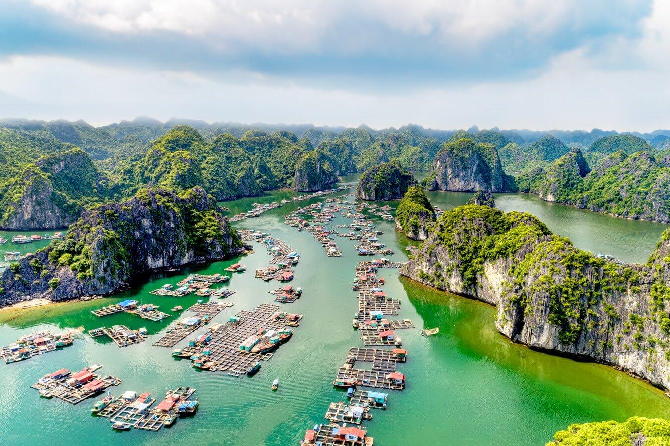 Vịnh Lan Hạ (Cát Bà) -