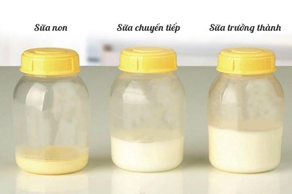làm trắng da bằng sữa non