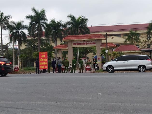 Phát hiện ca nhiễm Covid 19 mới tại Hải Phòng, phong tỏa một bệnh viện, một xã