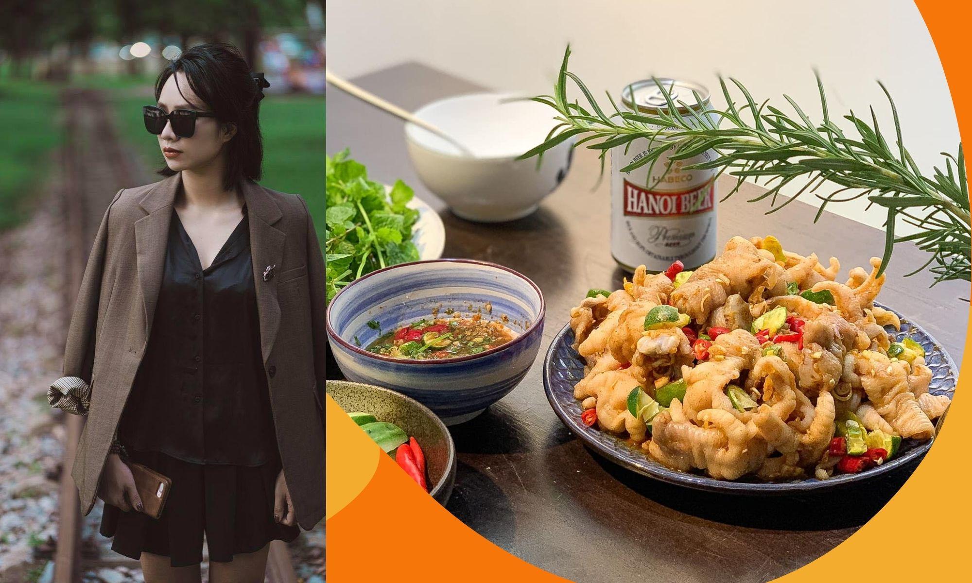 Mẹ đảm chia sẻ cách làm món chân gà kiểu Thái không thể cưỡng lại