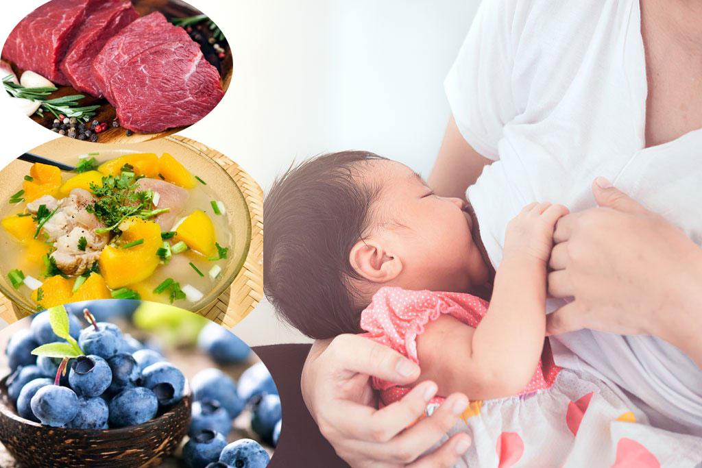 Sau sinh mẹ bầu nên ăn gì để có nhiều sữa mà vẫn giữ dáng?