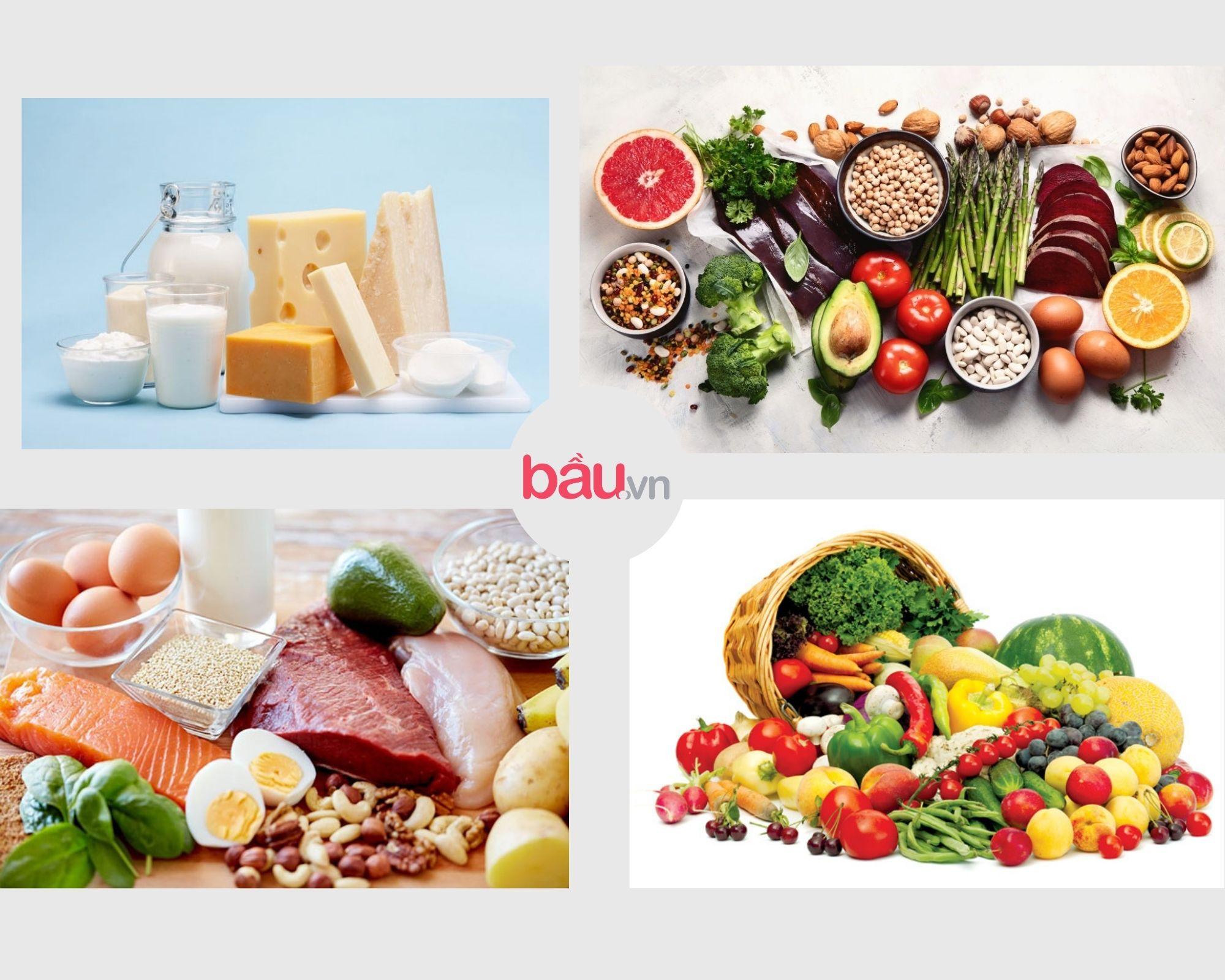 Những thực phẩm bổ sung dinh dưỡng trước mang thai