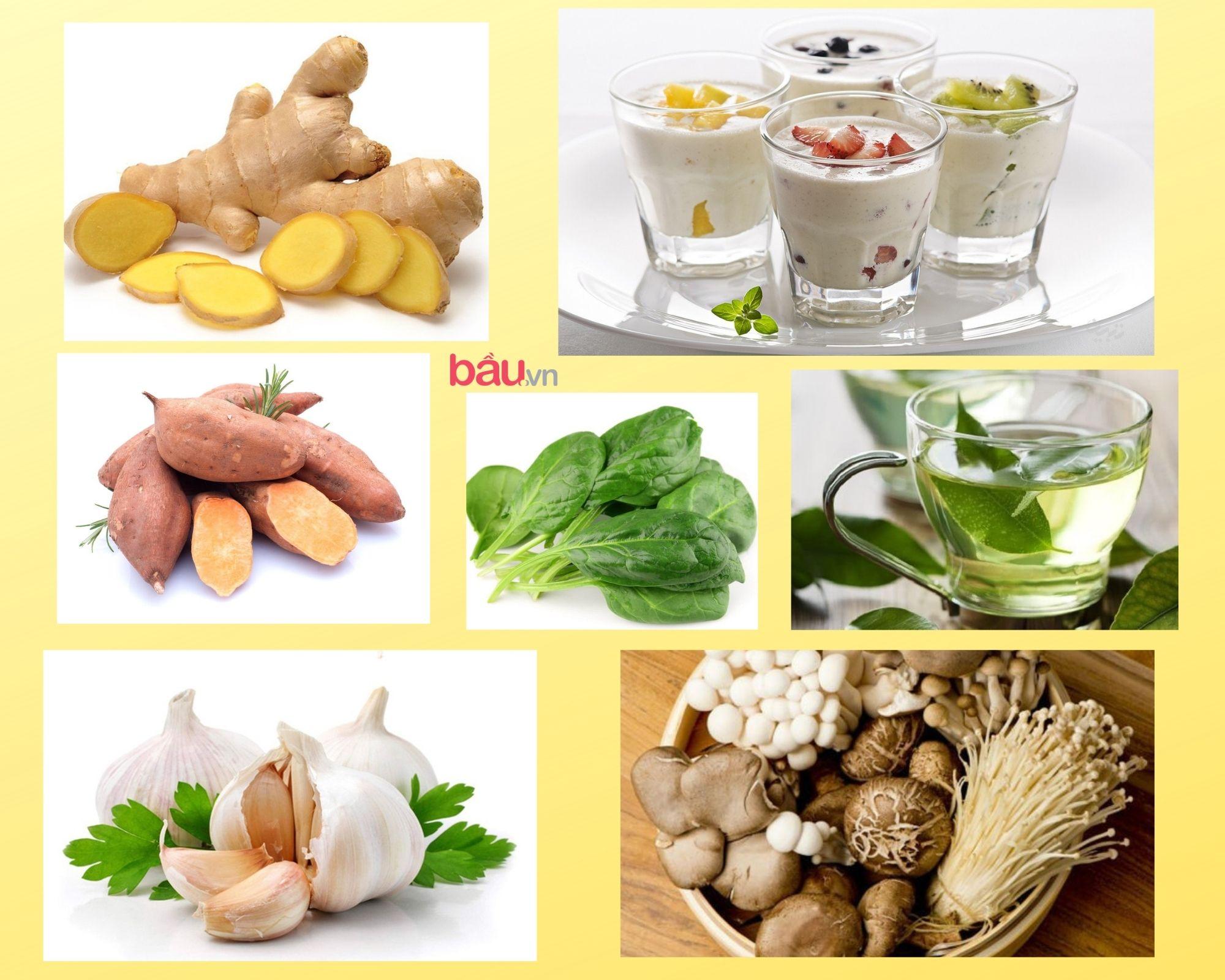 Siêu thực phẩm tăng đề kháng trong thời tiết giao mùa