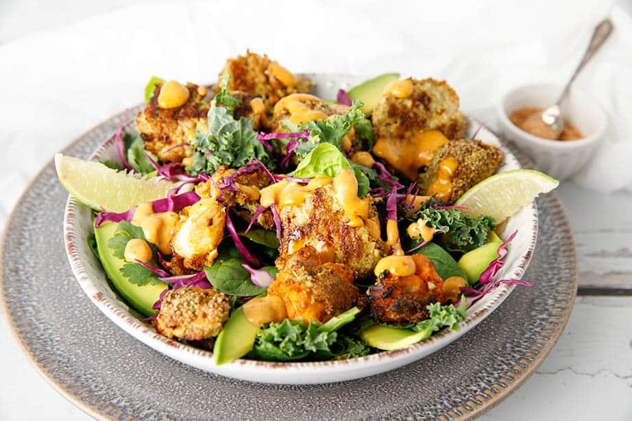 Công thức làm salad đơn giản cho người mới bắt đầu chế độ Keto