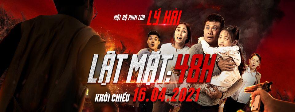 Phim Lật mặt: 48H của Lý Hải hiện đang được chiếu tại các rạp trên toàn quốc