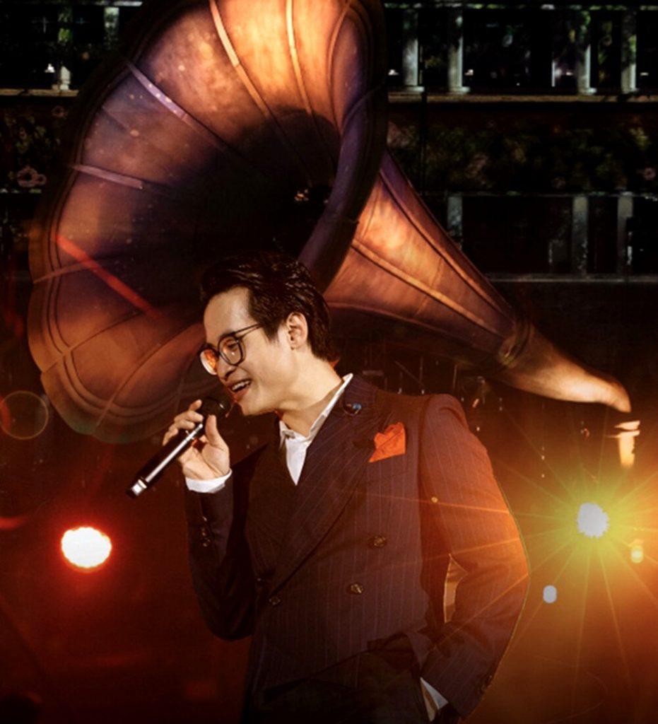 Hình ảnh Hà Anh Tuấn trong liveshow Veston Concert ở Đà Lạt