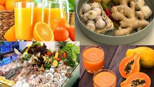 10 loại thực phẩm giúp tăng cường sức đề kháng trong mùa dịch