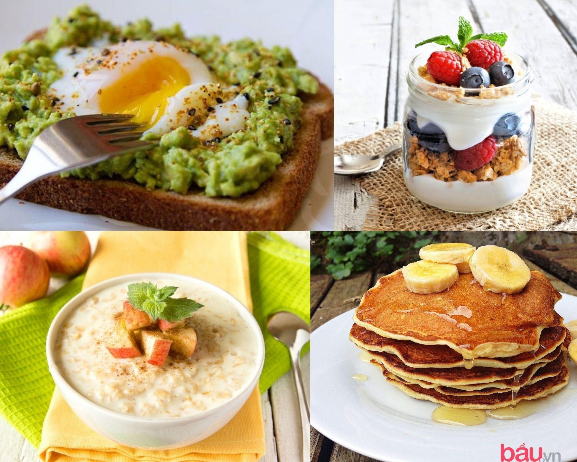 Gợi ý thực đơn cho bữa sáng healthy dành cho gia đình bạn
