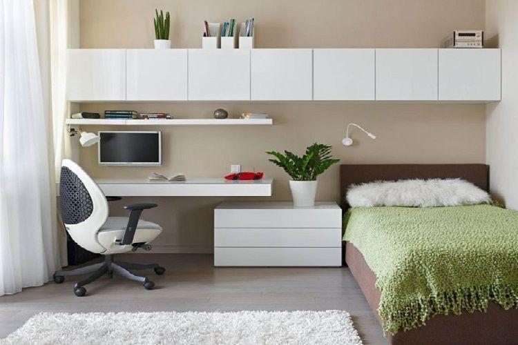 Cách trang trí phòng ngủ nhỏ đơn giản mà vẫn đẹp rụng rời hình 2