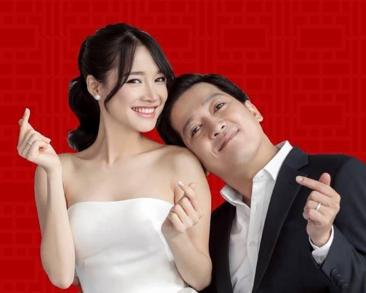 """Danh hài Trường Giang khoe khéo thành công của vợ trong phim """"Cây táo nở hoa"""""""