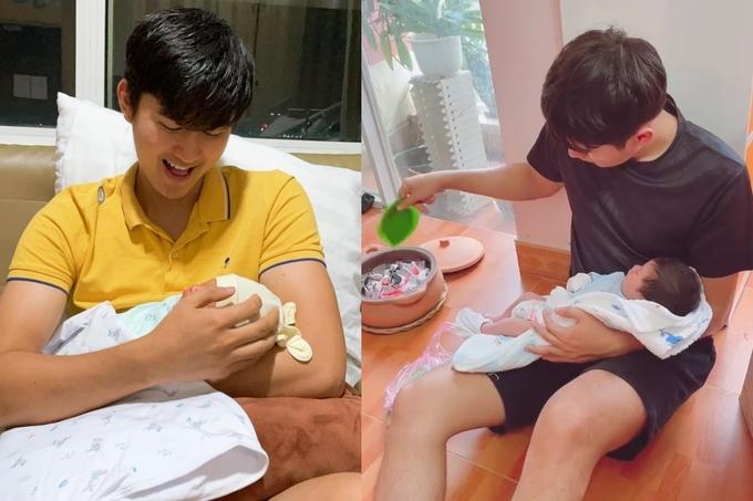Diễn viên Thảo Trang lần đầu đăng tải hình ảnh con trai hình 2