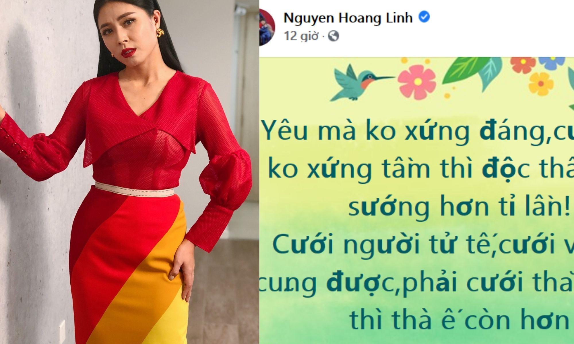 MC Nguyễn Hoàng Linh nêu rõ quan điểm: