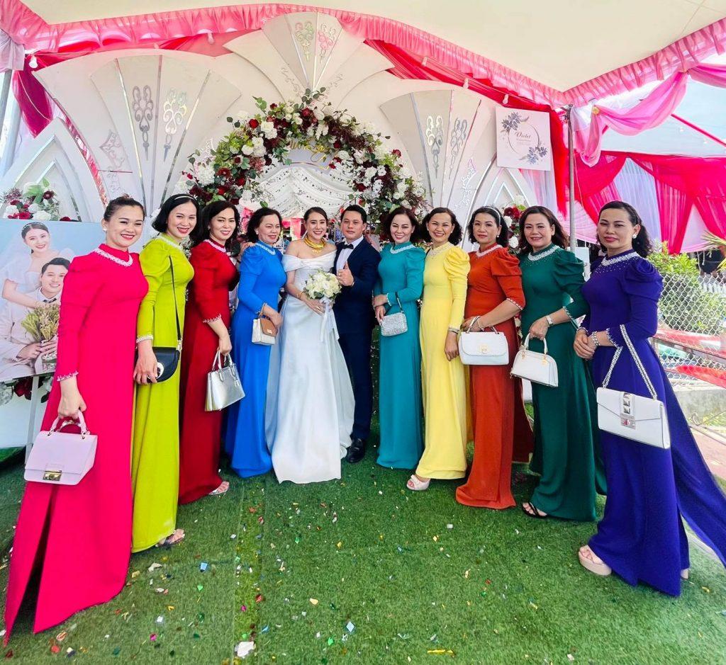 Lễ vu quy của nữ diễn viên đã diễn ra vào ngày 5/5 tại quê nhà Quãng Ngãi