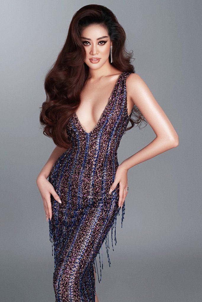 Hoa hậu Khánh Vân hé lộ bộ ảnh khoe dáng với đầm dạ hội quyến rũ hình 4
