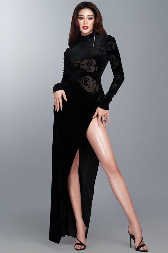 Hoa hậu Khánh Vân hé lộ bộ ảnh khoe dáng với đầm dạ hội quyến rũ hình 6