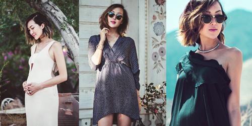 Thời trang mẹ bầu vào mùa hè mặc gì là hợp lý nhất ?