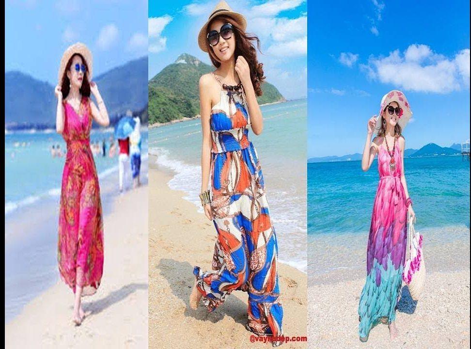 Những kiểu thời trang váy đi biển không thể thiếu vào mùa hè 2021