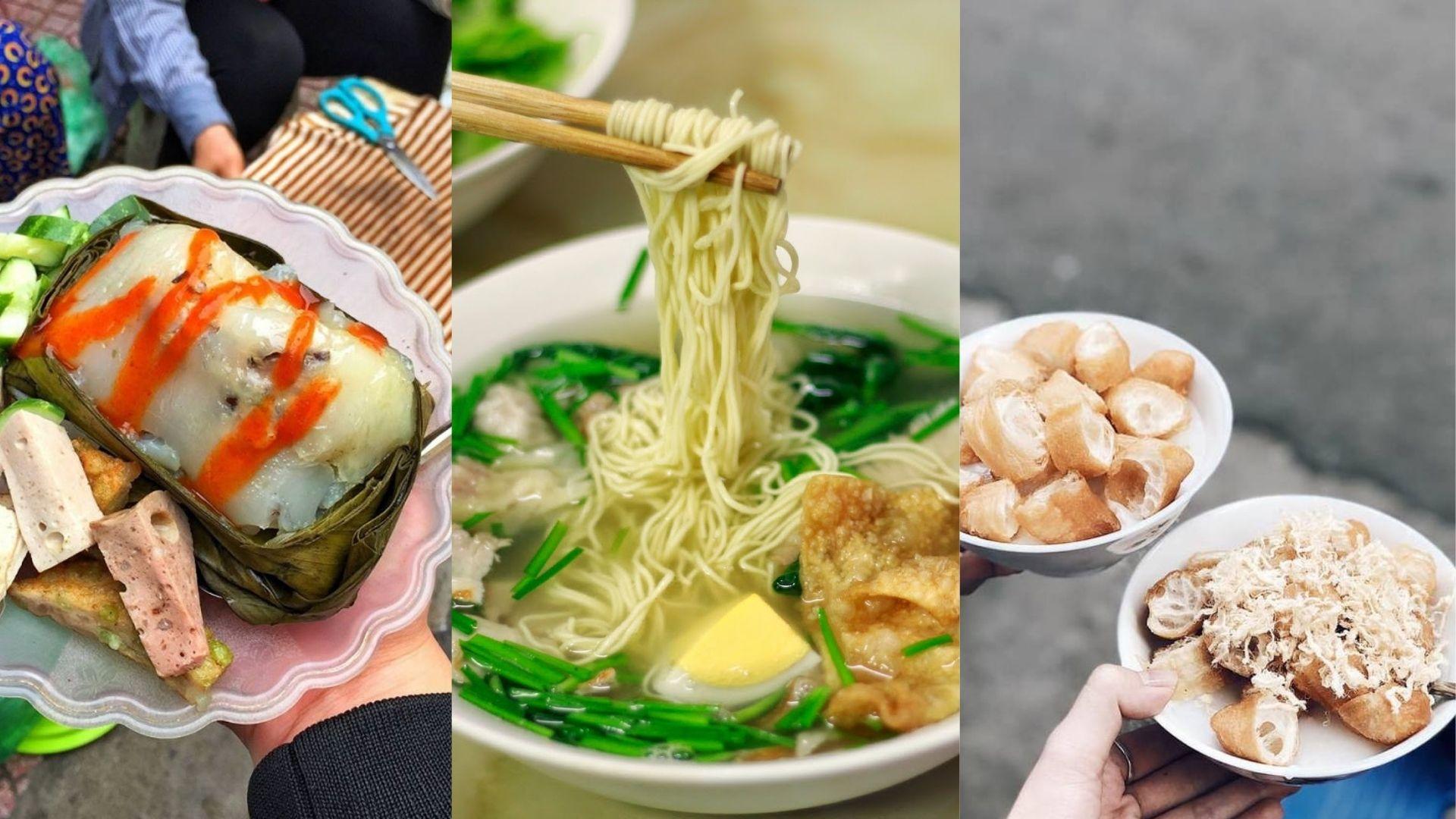 Những món ăn ngon Hà Nội mà bạn nhất định phải thử 1 lần trong đời!