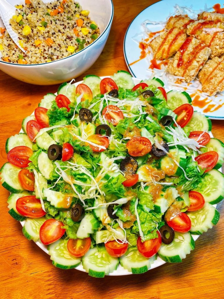 Những món salad rau củ giúp giữ dáng, giải nhiệt mùa hè cho chị em hình 2