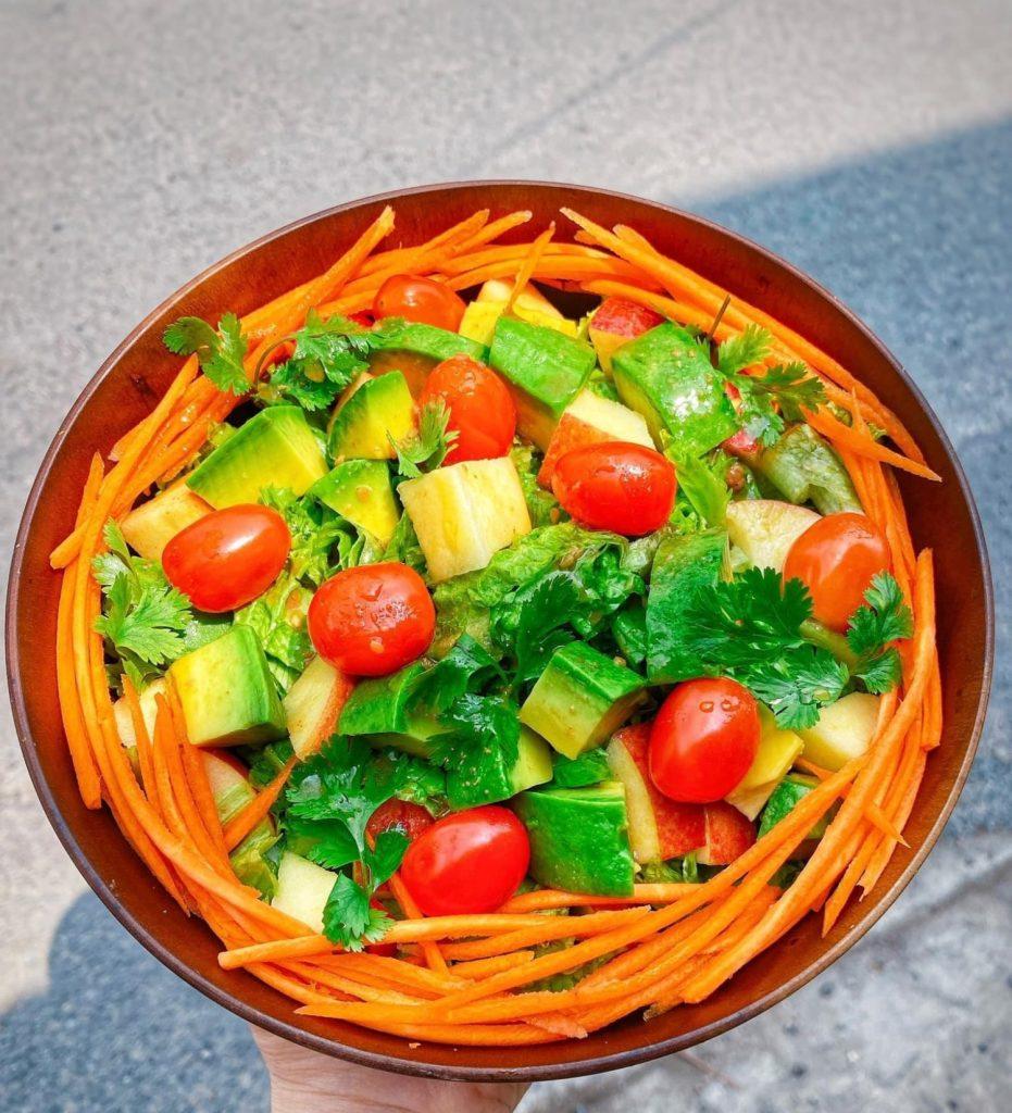 Salad rau củ hình 5