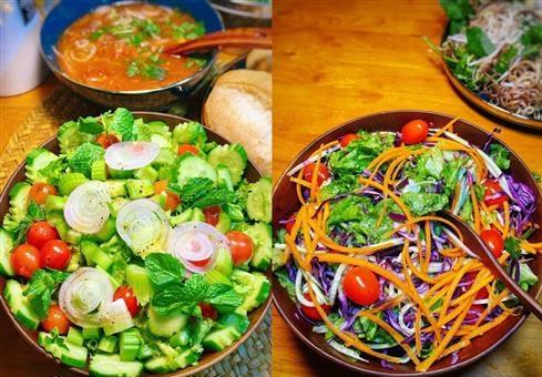 Những món salad rau củ giúp giữ dáng, giải nhiệt mùa hè cho chị em