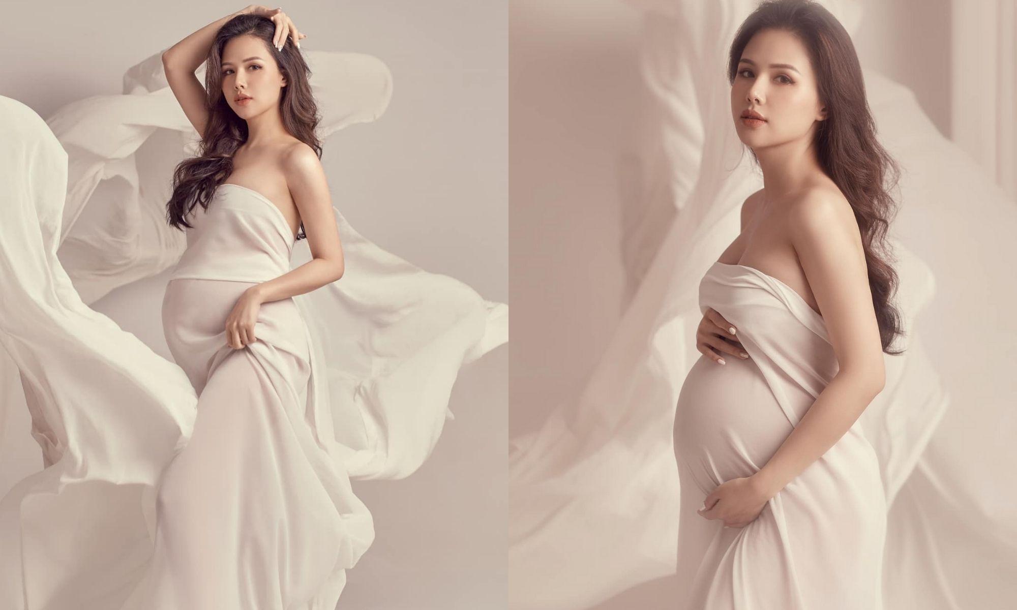 Mẹ bầu Phanh Lee xinh đẹp xuất sắc, tiết lộ điều hạnh phúc hiện tại