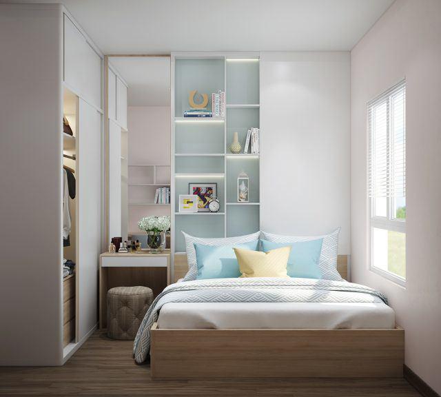 Cách trang trí phòng ngủ nhỏ đơn giản mà vẫn đẹp rụng rời hình 1