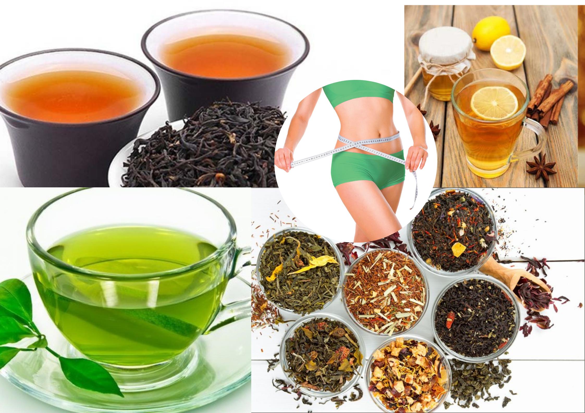 Các loại trà hỗ trợ chị em giảm cân nhanh chóng, không gây mệt mỏi