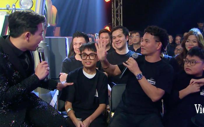 NSUT Xuân Bắc từng xuất hiện ở hàng ghế khán giả chung kết Rap Việt mùa 1