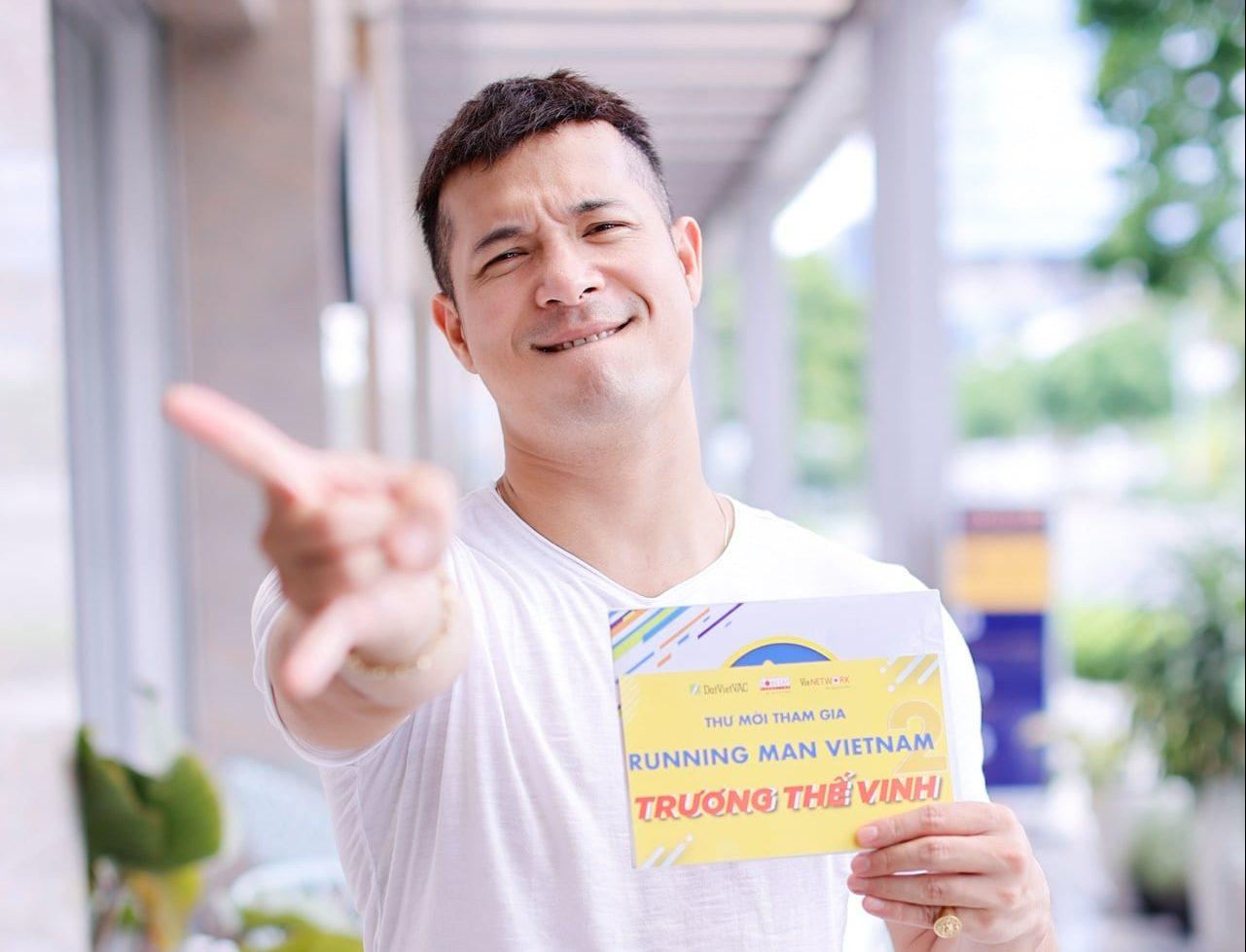 Trương Thế Vinh tiếp tục góp mặt tại Running Man phiên bản Việt mùa 2
