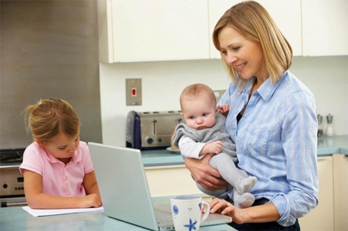 5 việc làm tại nhà cho mẹ bỉm sữa tăng thêm thu nhập gia đình