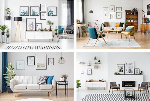 Cách trang trí nhà bằng tranh tạo sự sinh động, phá cách cho ngôi nhà của bạn
