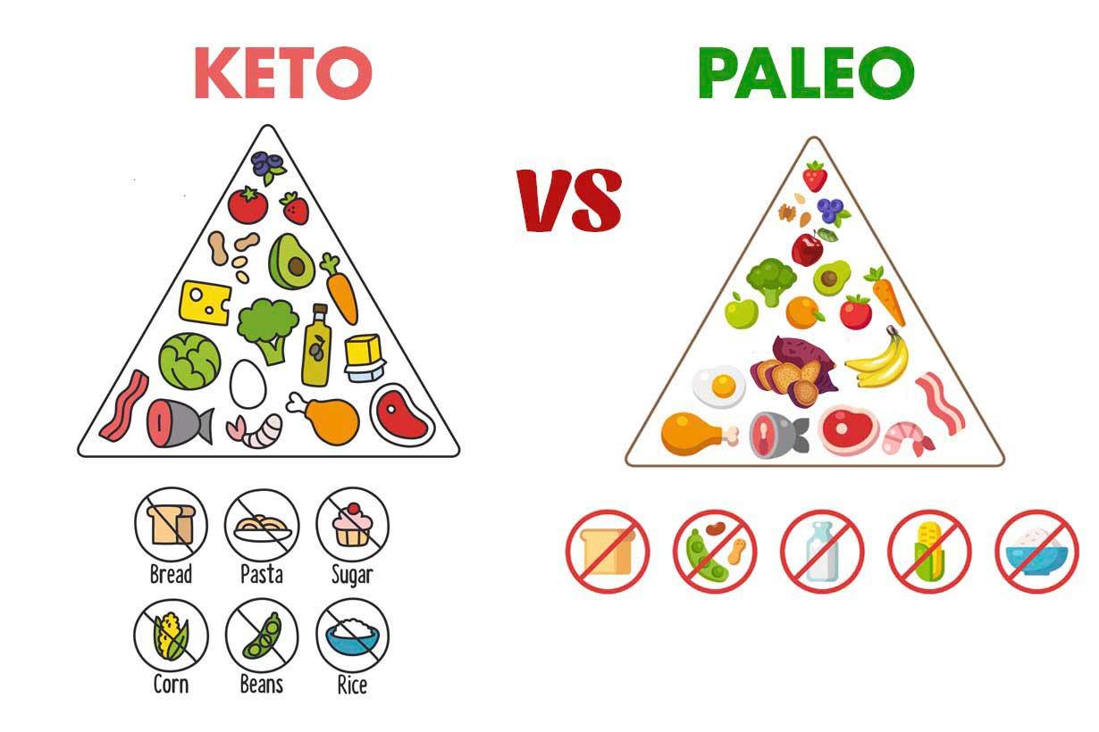 So sánh chế độ ăn kiêng Keto và Paleo: Chế độ low-carb nào hợp với bạn?