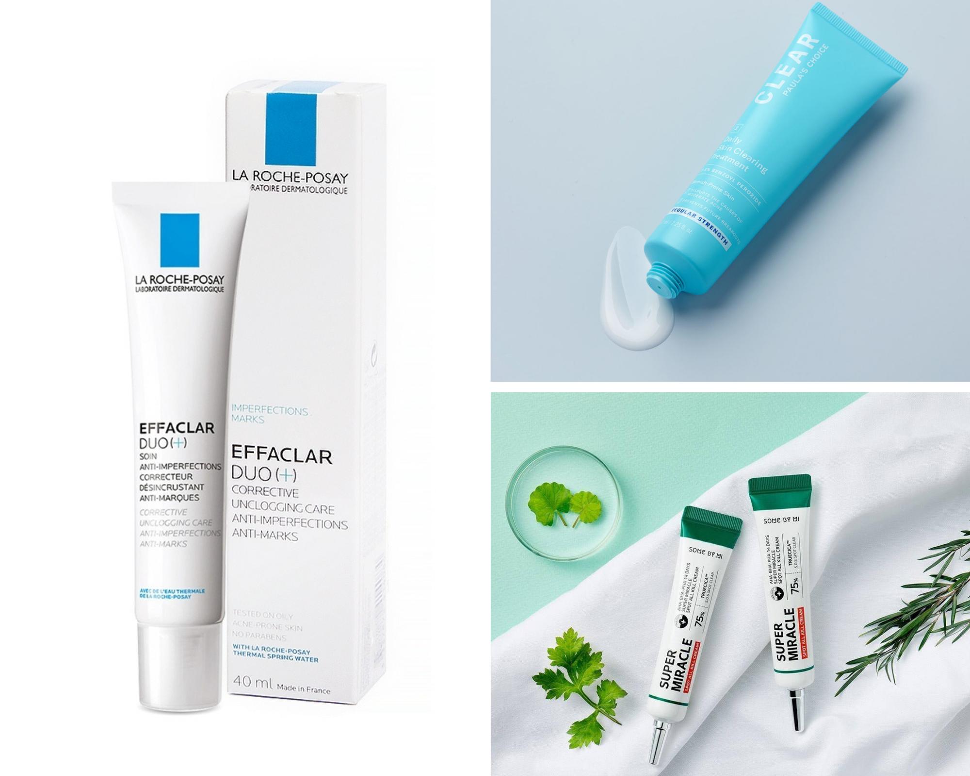 Top 5 sản phẩm trị mụn ẩn hiệu quả nhất hiện nay