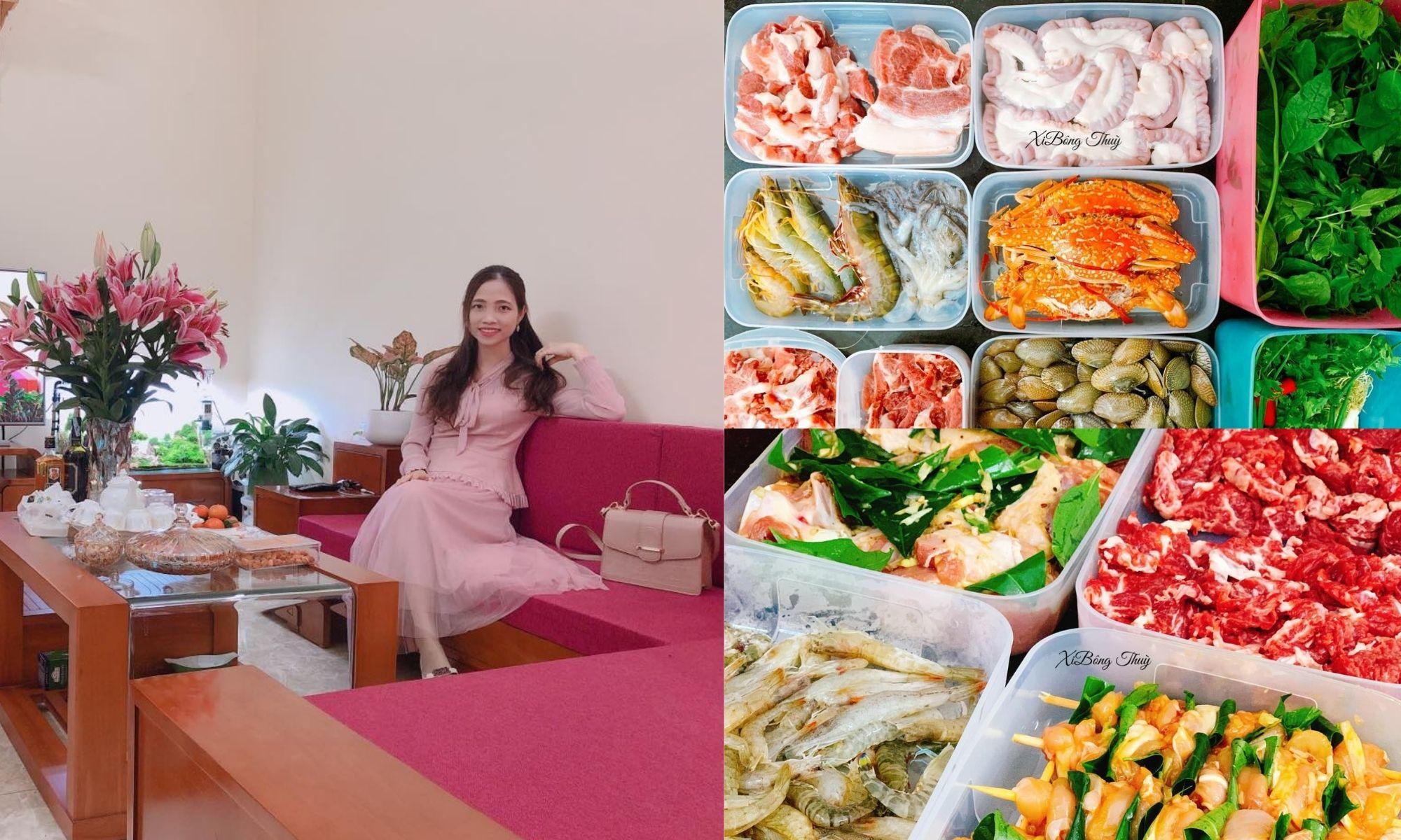Bí quyết đi chợ, trữ đông thực phẩm tươi ngon của mẹ đảm Quảng Ninh