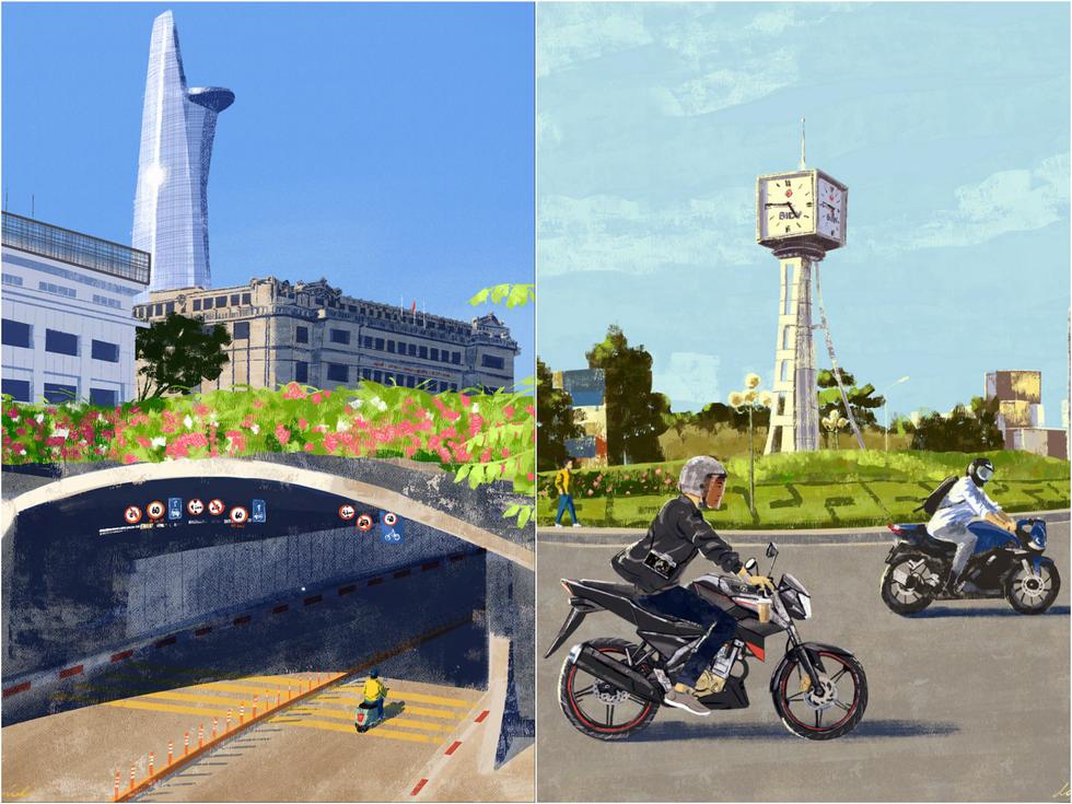 100 views of Saigon