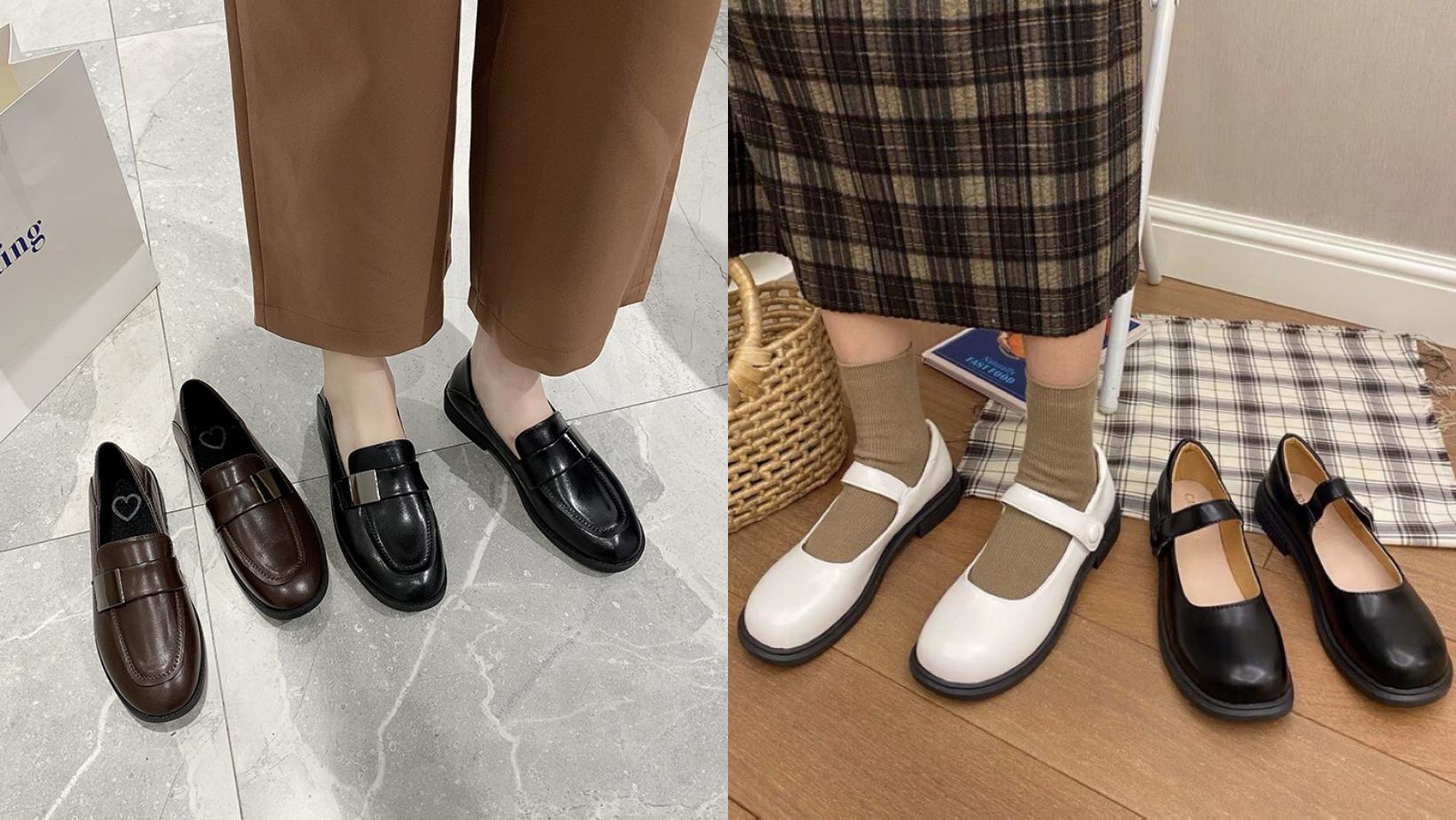5 kiểu giày bệt khi