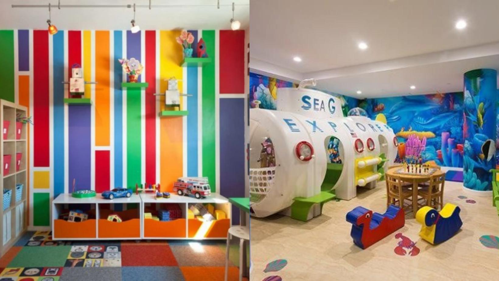 Bày cách cho cha mẹ thiết kế không gian vui chơi cho trẻ đầy sáng tạo