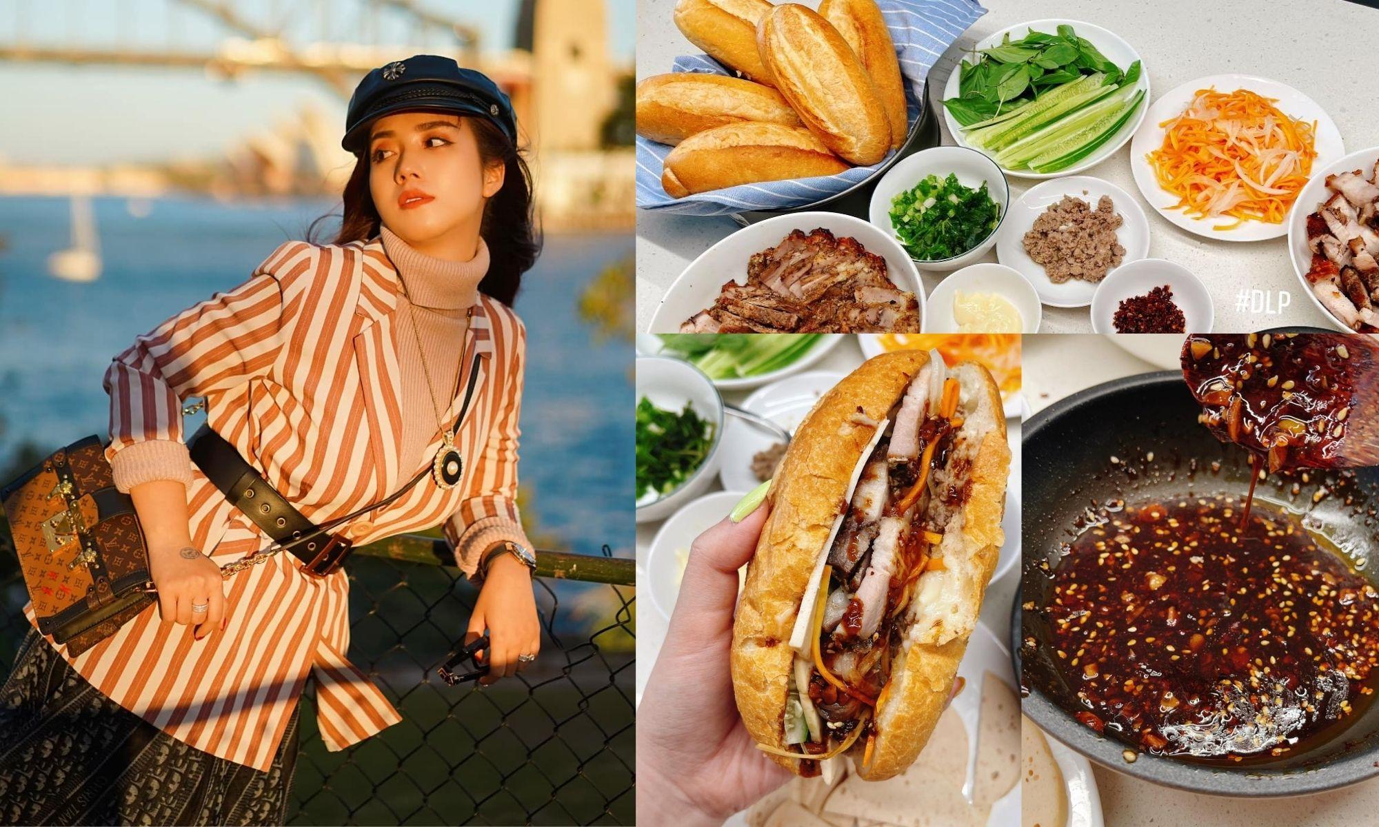 Dâu đảm Sài Gòn nhớ quê, trổ tài làm món bánh mì heo quay xứ Huế ăn bao phê
