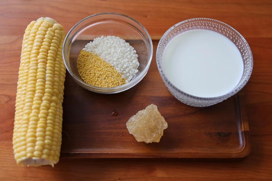 Cách làm sữa ngô hạt kê uống sau 2 tuần da căng mịn, sáng hồng hình 1