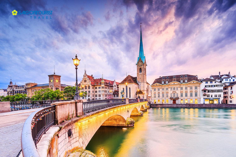 Con gái hãy tiết kiệm tiền và thử 1 chuyến du lịch đến Thuỵ Sĩ một lần